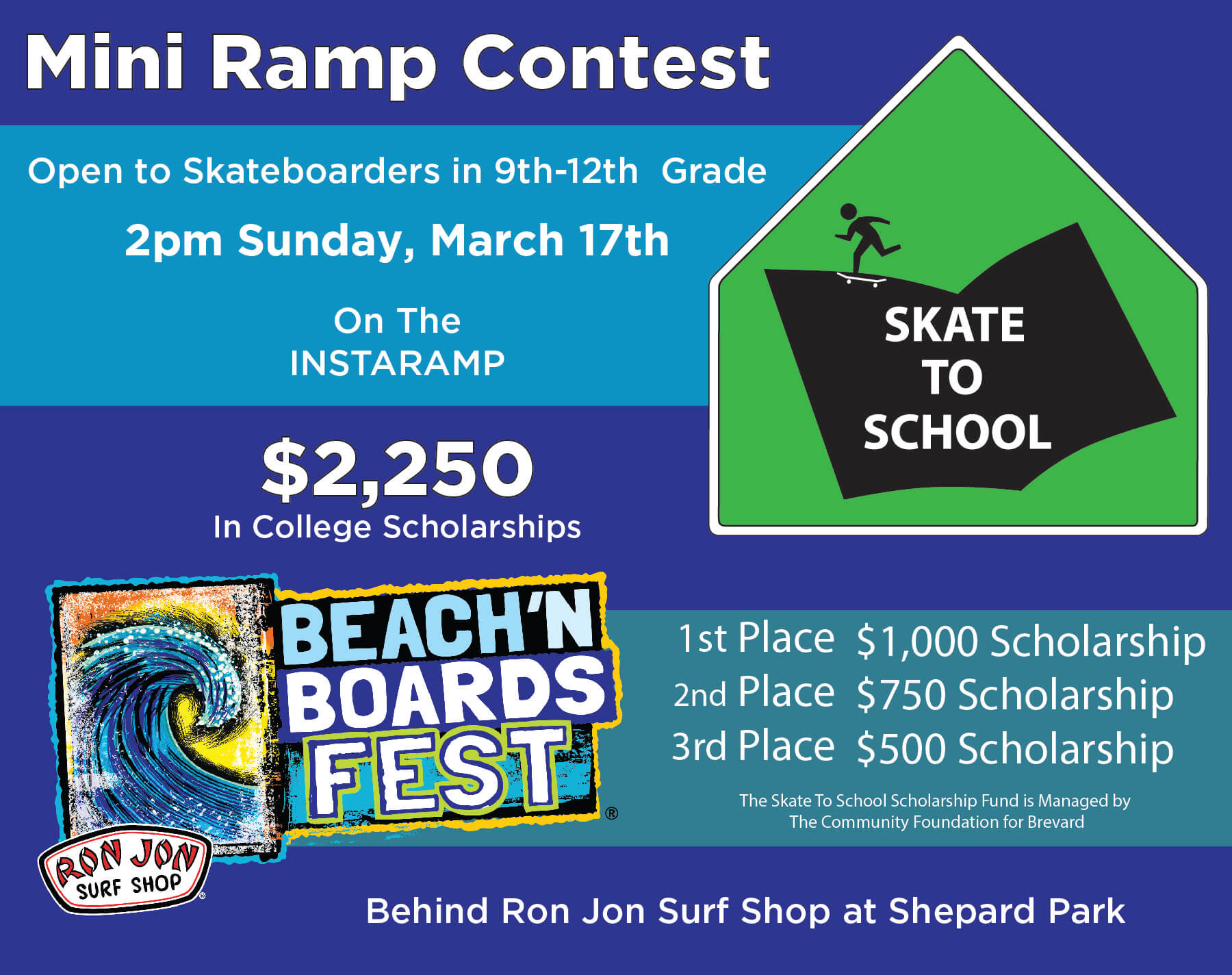 4bff14f20c3 Beach boards fest brought to you ron jon surf shop jpg 1800x1424 Vans  quiksilver skateboarding competition